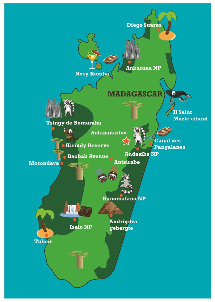 Where Is The Island Of Madagascar On A Map